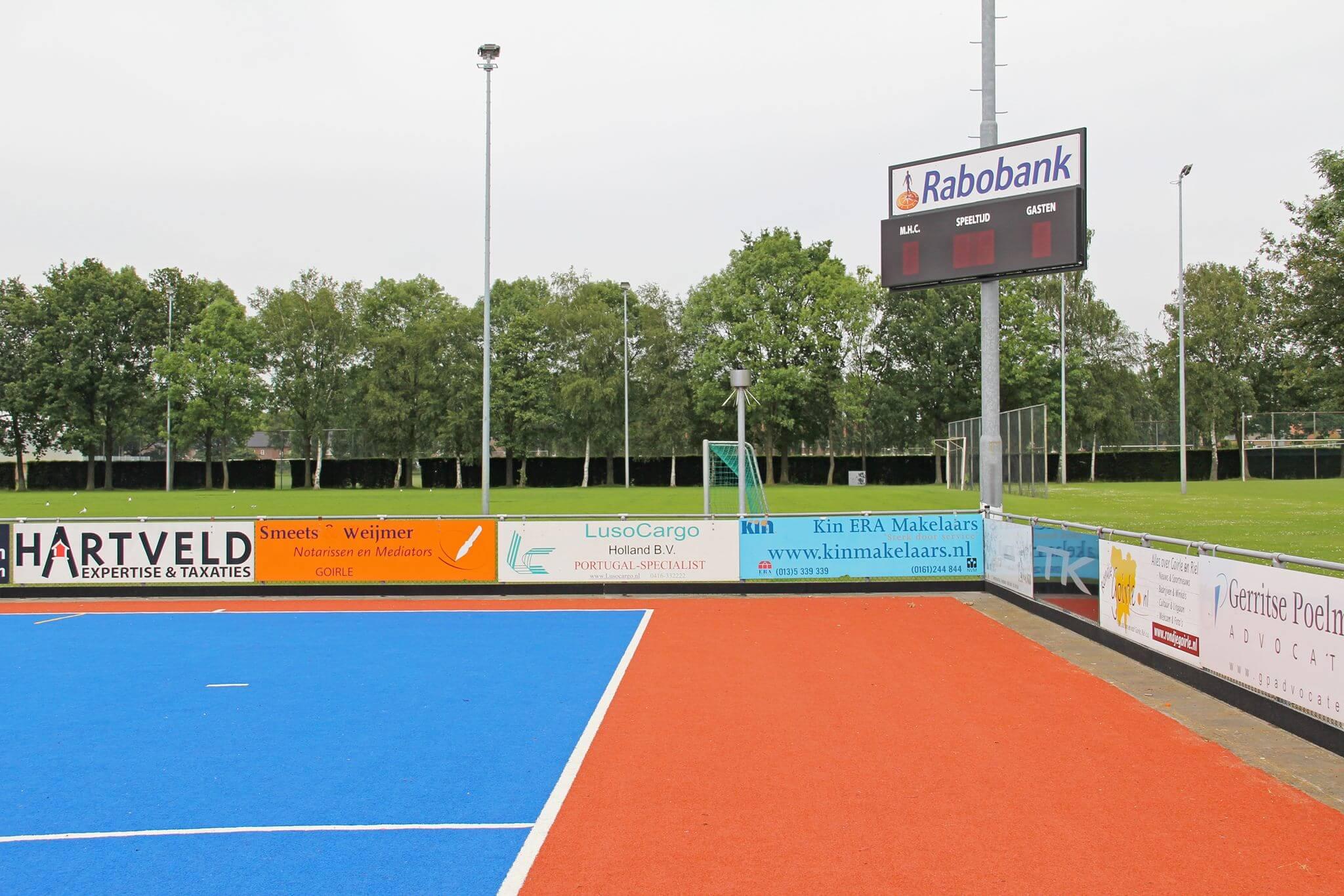 Scorebord 1-2-1 LED voetbal, korfbal, hockey, karting, handbal,