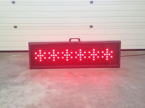 LED Lichtkrant (Rood)