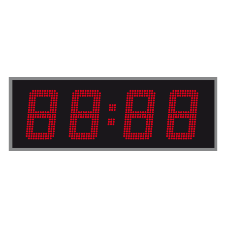 LED Tijd- en Temperatuurdisplay Enkelzijdig 15 cm