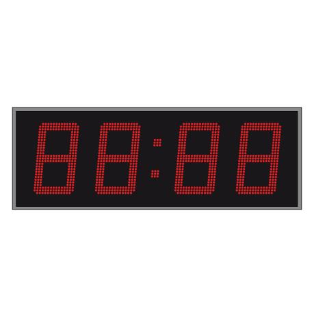 LED Tijd- en Temperatuurdisplay Enkelzijdig