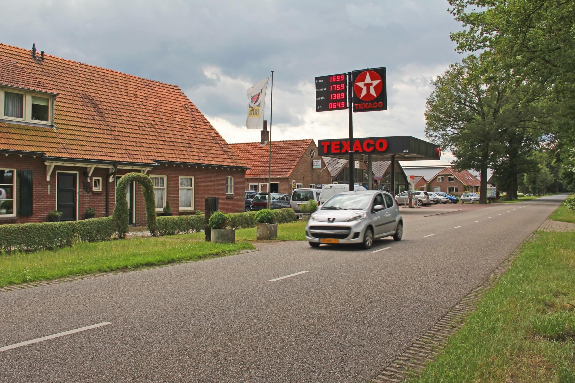 brandstofprijzendisplay