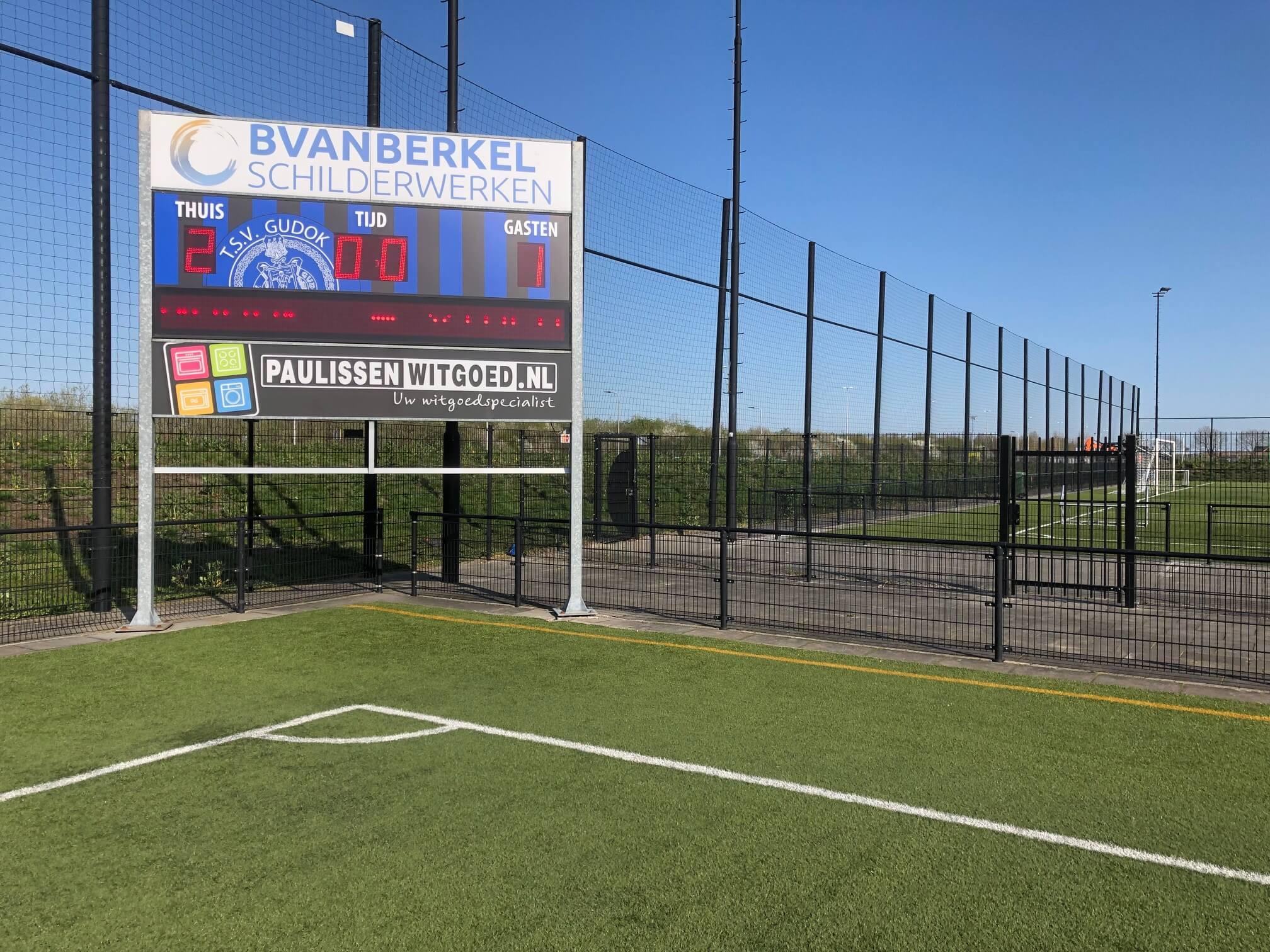 Scorenbord-TSV-Gudok